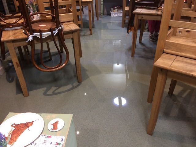 Living the Dream: More floods hit our tearoom